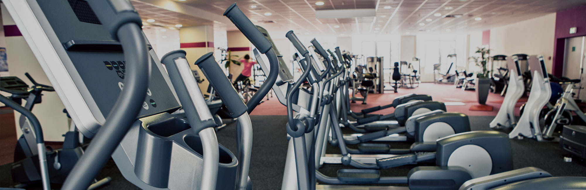 Equipment in gym in Wirral